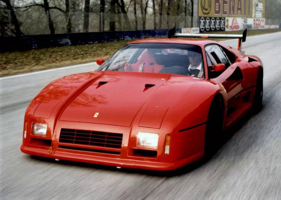 Раллийный Ferrari 288 GTO Evoluzione, который стал прототипом для Ferrari F40