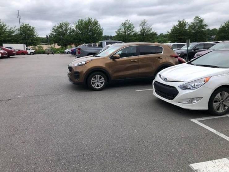 Гении парковки делятся своим мастерством