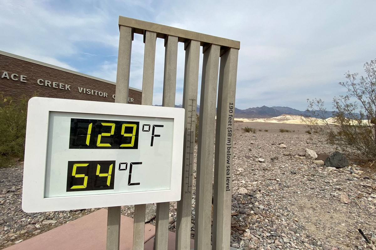 Очень сильная засуха в Калифорнии