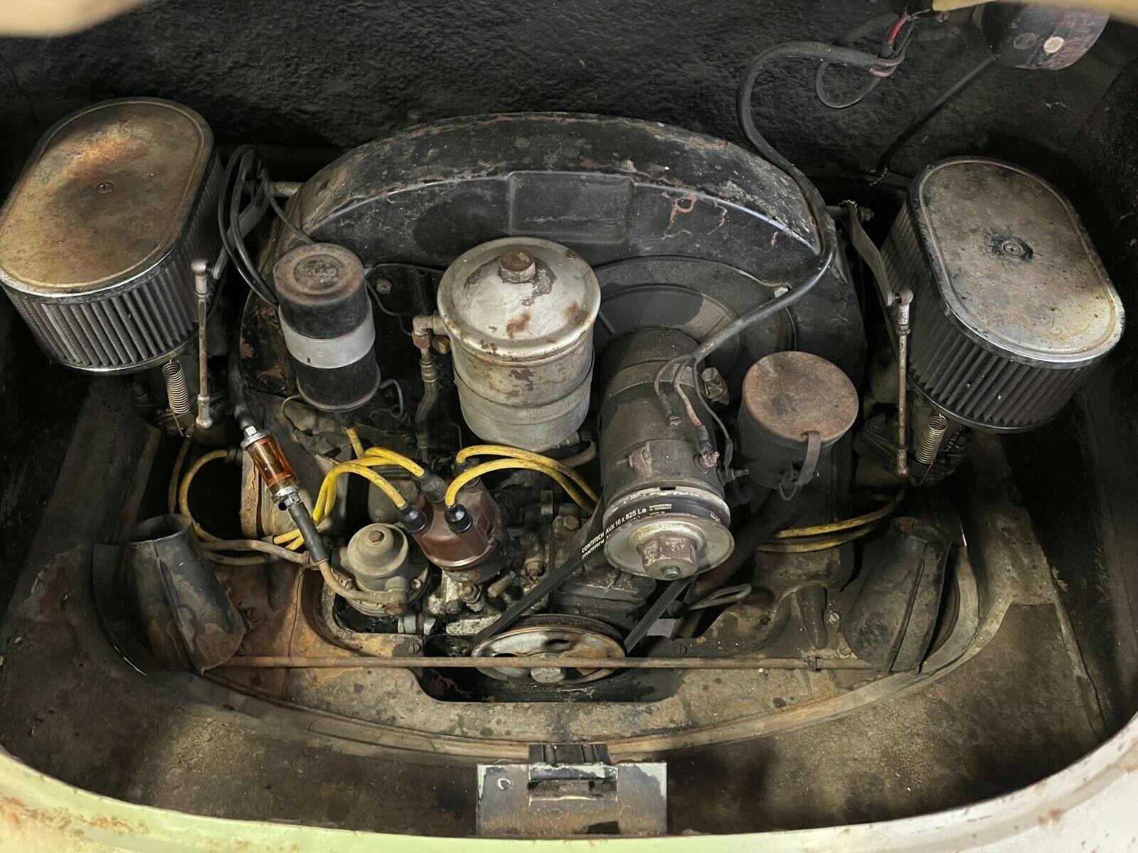 Porsche1963 года простоял 40 лет в сарае и способен передвигаться