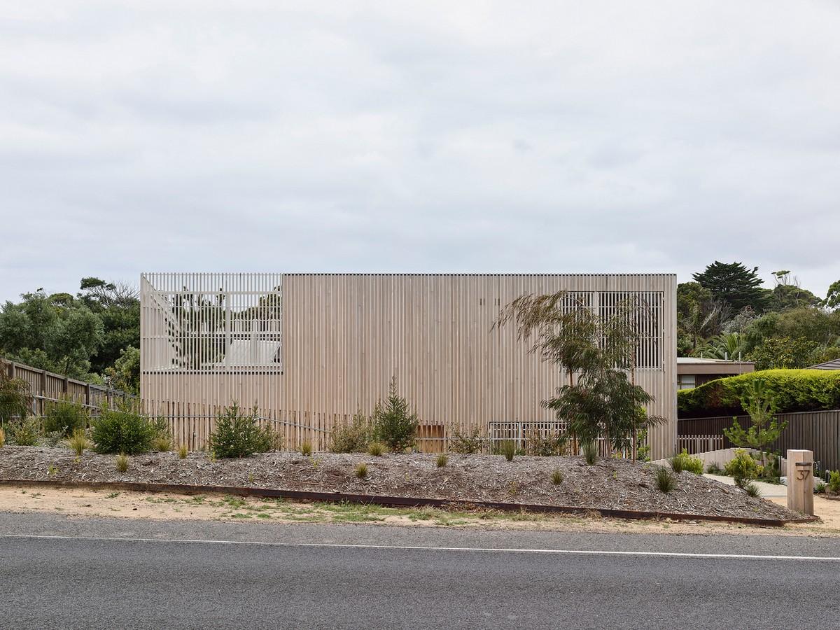 Резиденция для отдыха в японской стилистике в Австралии Картинки и фото