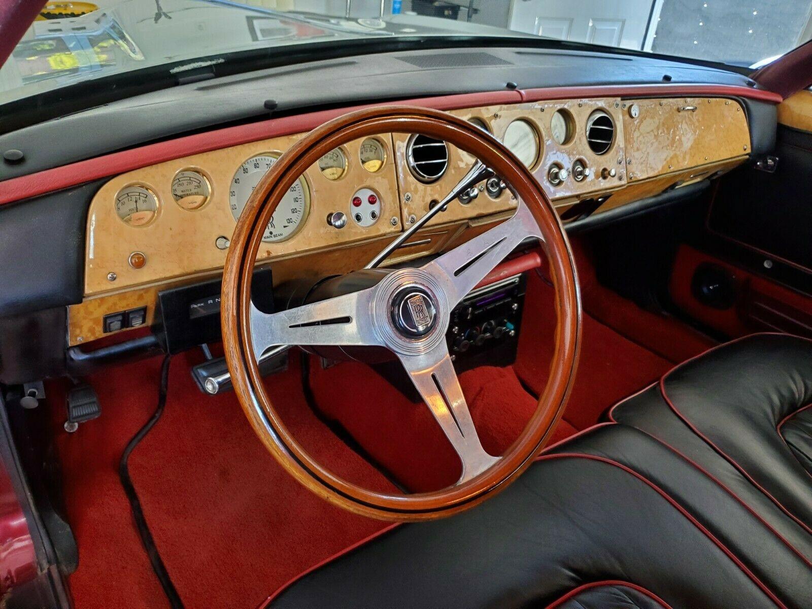 Необычный универсал Ford 1971 года с лицом Rolls-Royce