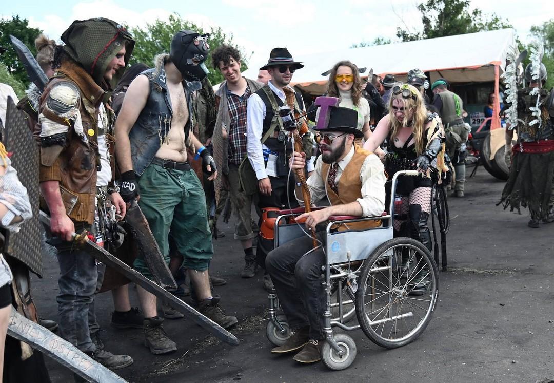 Постапокалиптический фестиваль научно-фантастической тематики OldTown в Польше