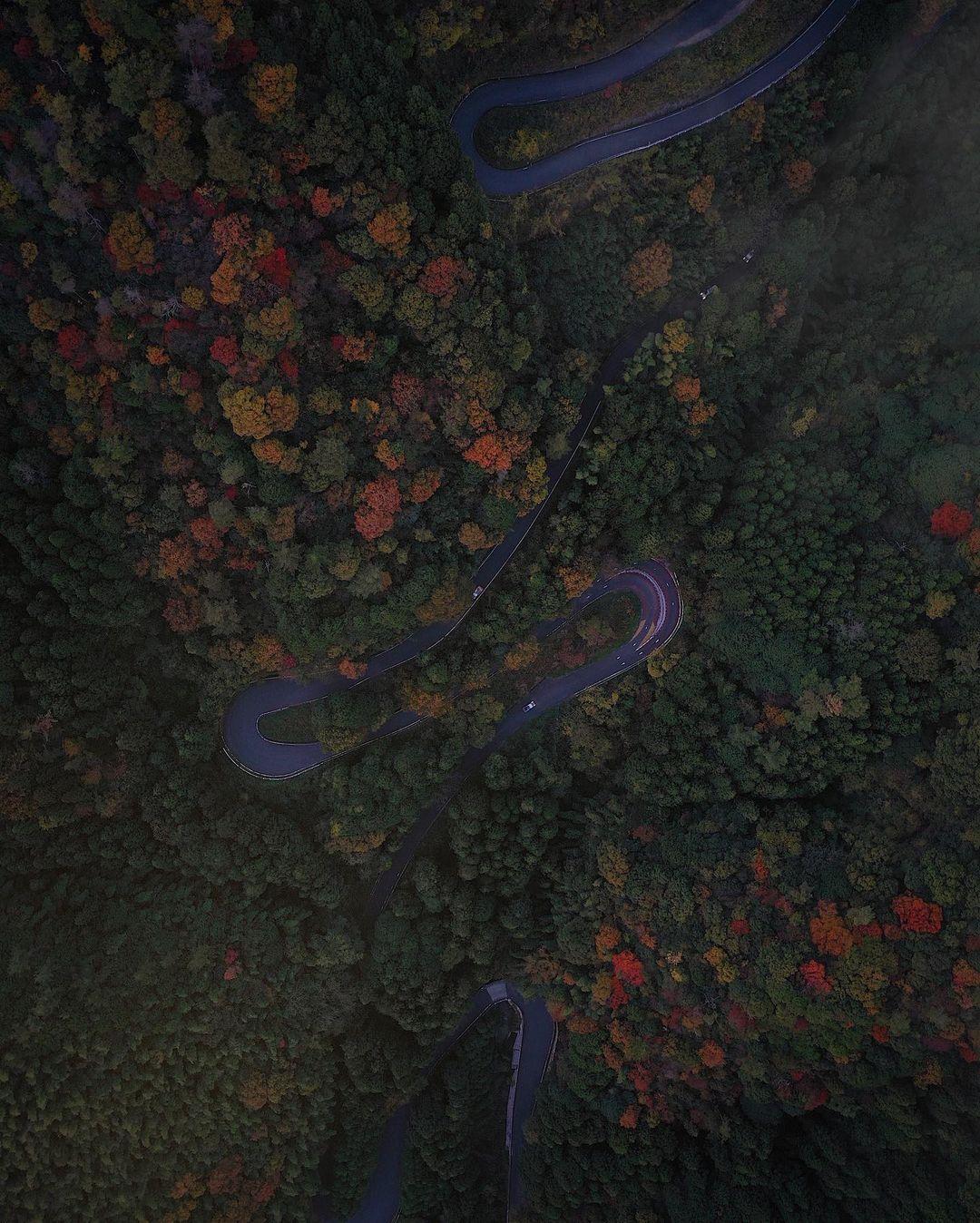 Азия на снимках с высоты от Косуке Курата