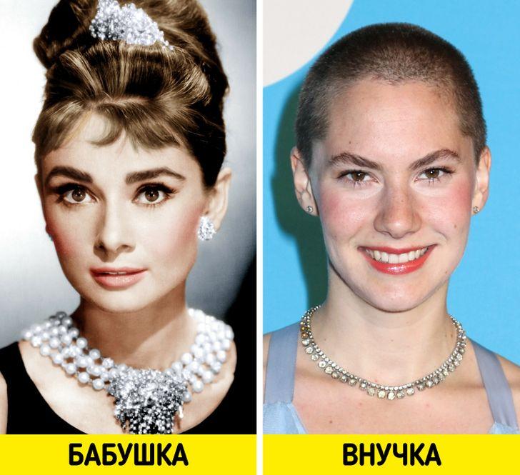 Дети и внуки знаменитостей XX века, которых считали эталонами красоты