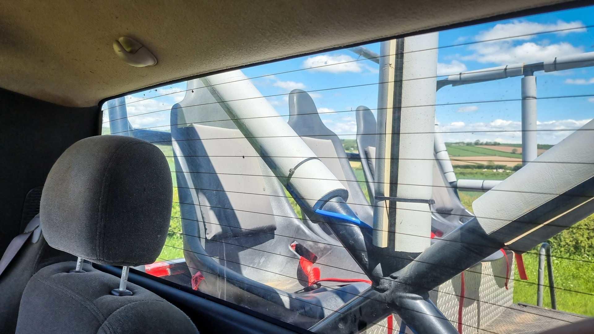 Огромный брутальный монстр-трак Chevrolet Silverado