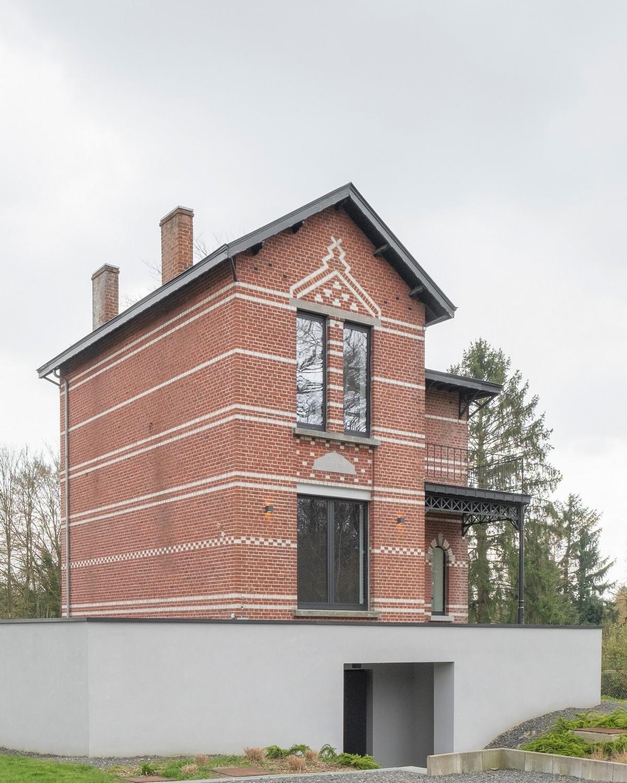 Реконструкция старой виллы в Бельгии