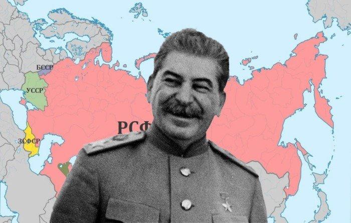 Какие земли Россия потеряла во времена Сталина?
