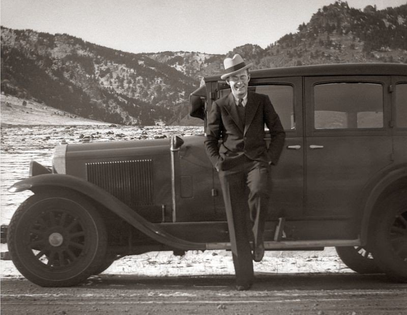 1930-cu illərdə şəkillərdə kişi modası