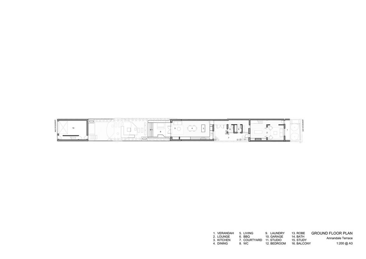 Реконструкция семейного дома с террасой в Австралии