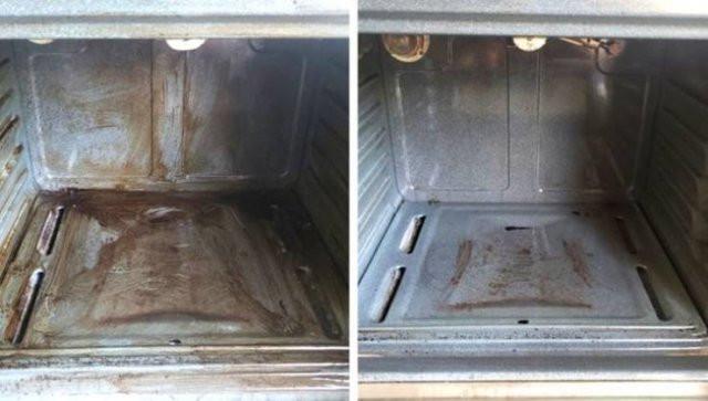 Места и предметы до и после тотальной чистки