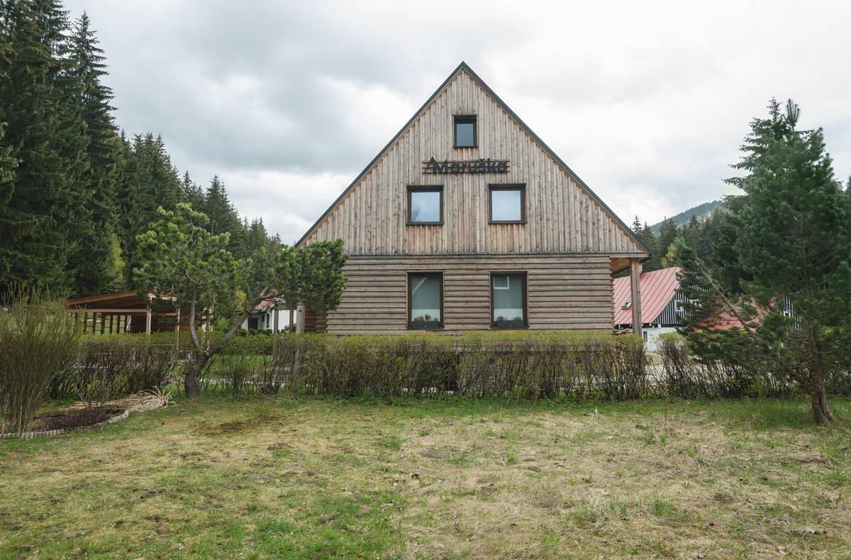 Расширение и обновление деревянного дома в Чехии