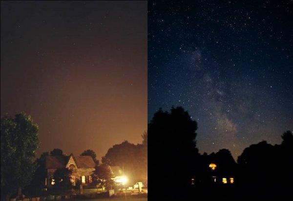 Немного снимков из серии все познается в сравнении