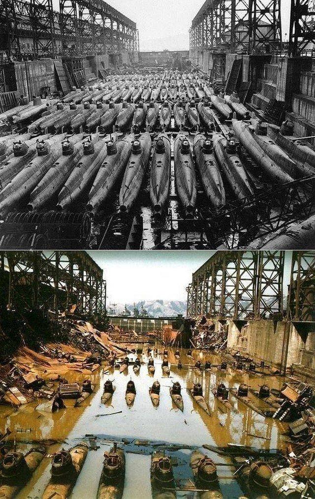 Редкие снимки из разных периодов истории