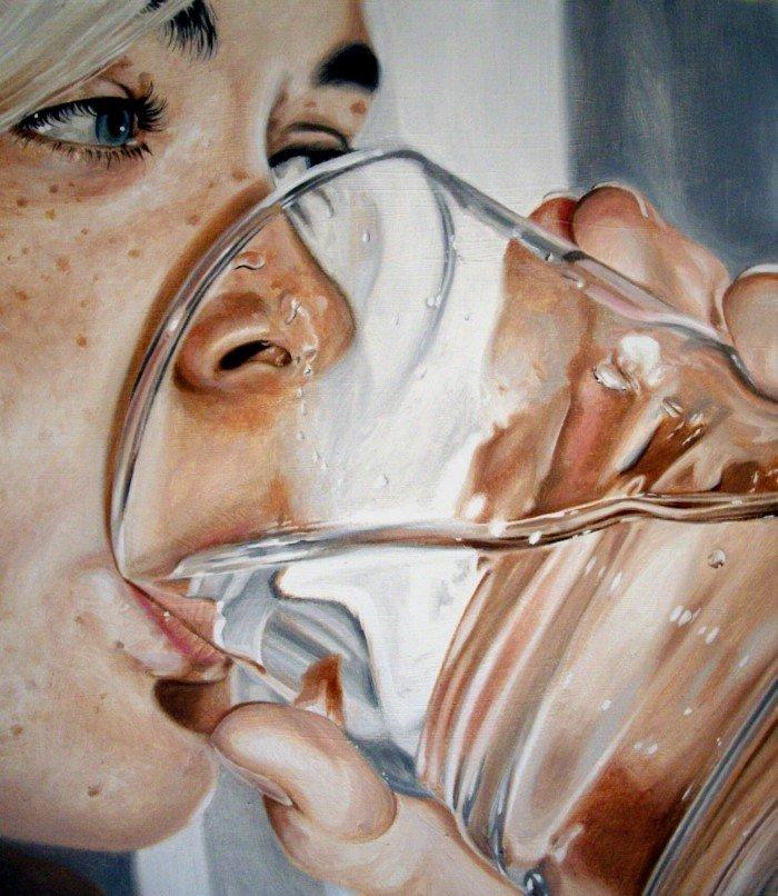 Почему люди успокаиваются, когда пьют воду?