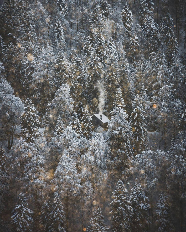 Волшебные пейзажи Швейцарии от Синха Боксбергера