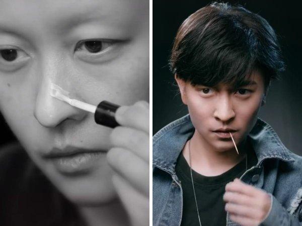 Впечатляющие превращения с помощью макияжа от девушки из Китая