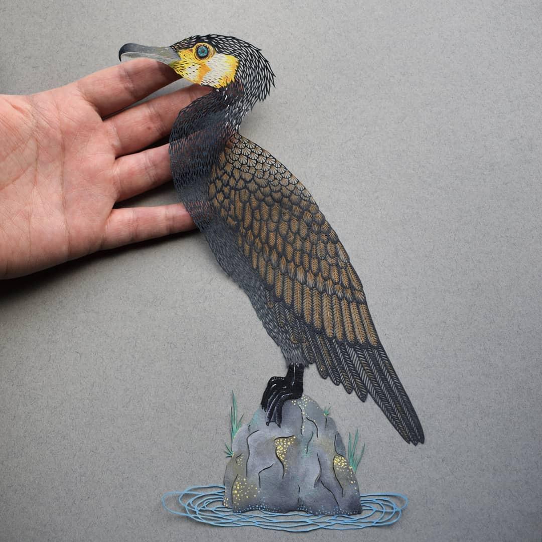Бумажные произведения искусства от Пиппы Дирлаги