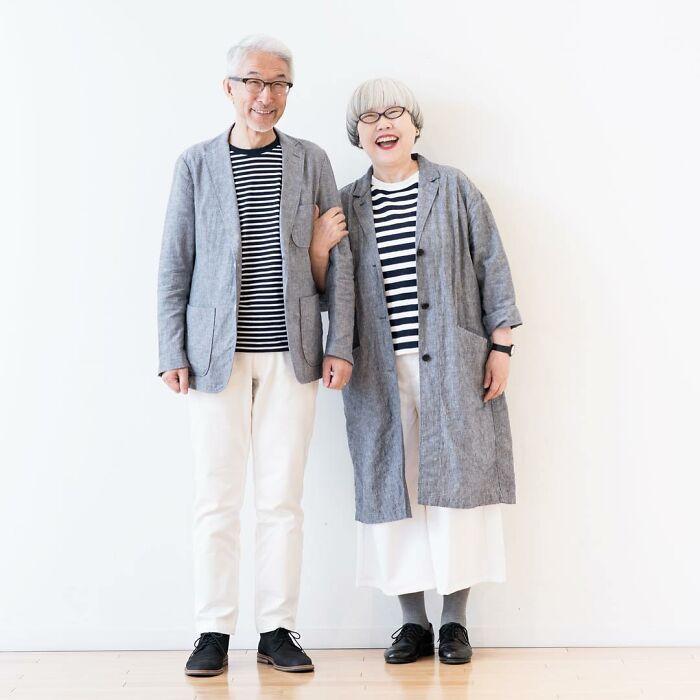 Идеальные супруги из Японии, которые каждый день одеваются в одинаковом стиле