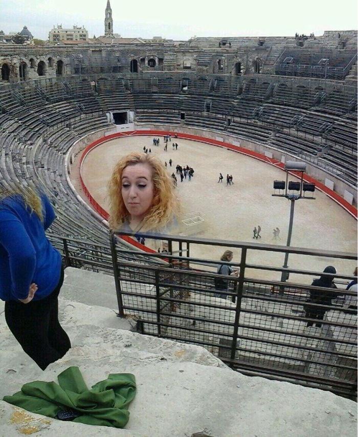 Неудачные панорамные снимки могут быть забавными