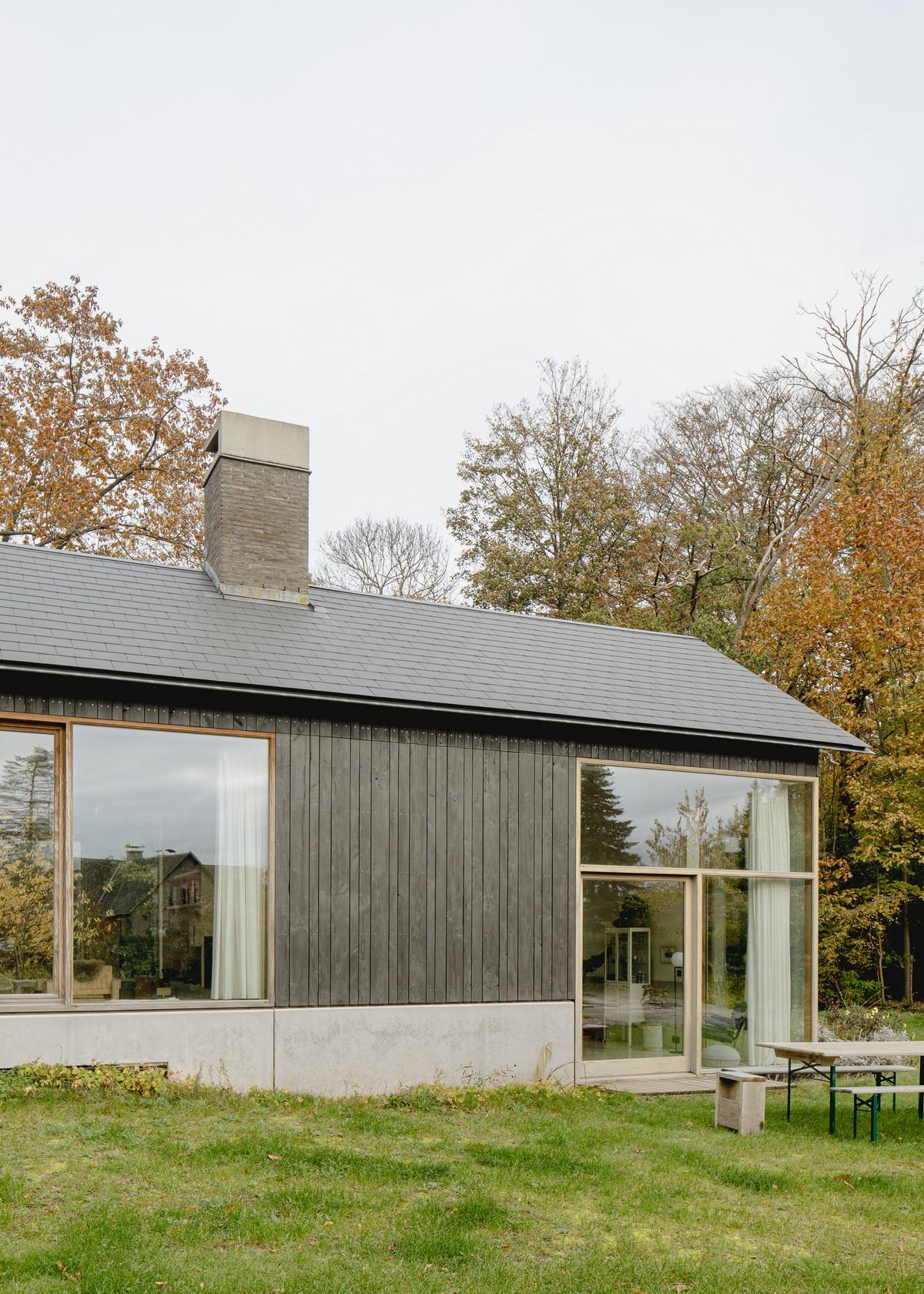 Ремонт и расширение шале в Бельгии