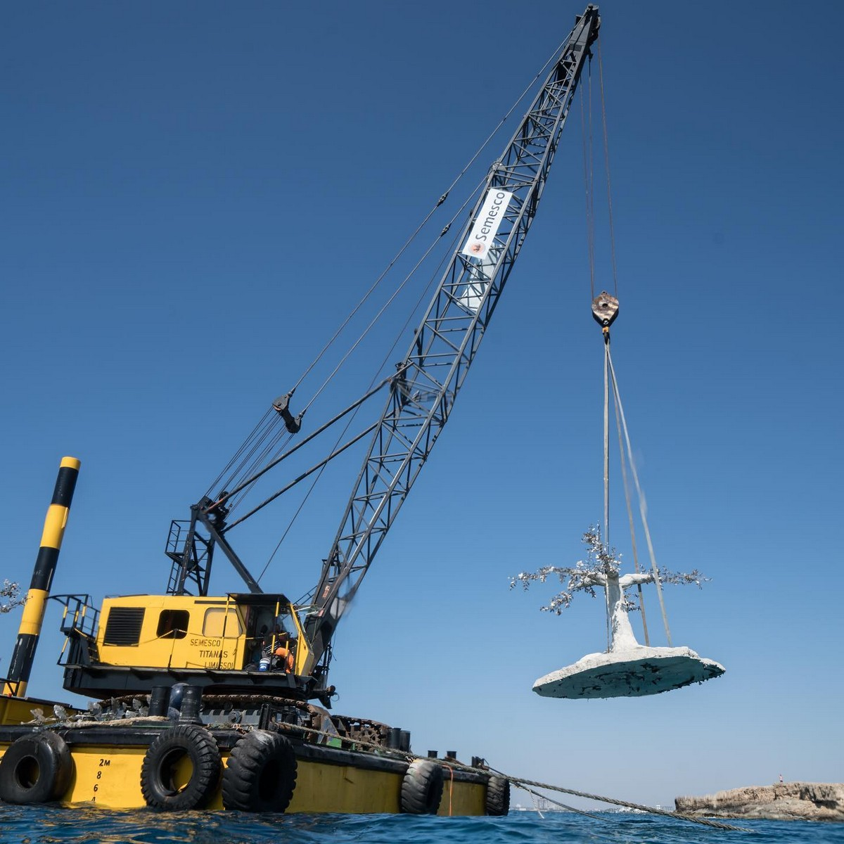Музей подводной скульптуры открылся на Кипре