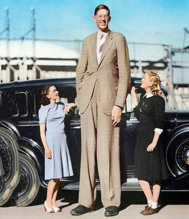 Три рекордсмена самого высокого роста в мире