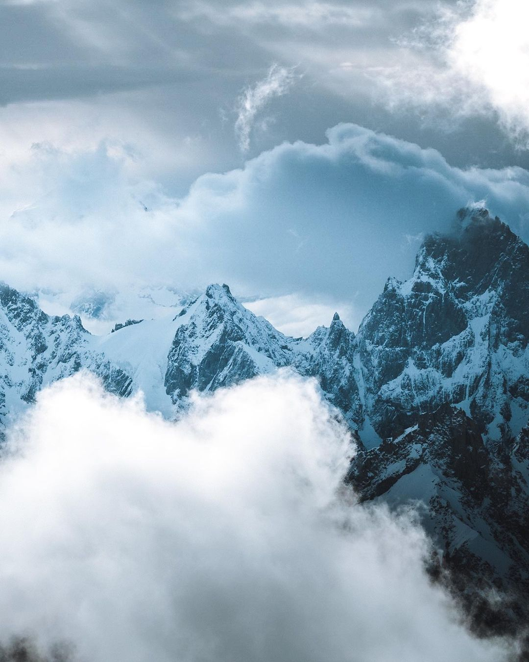 Красота горных пейзажей от Моргана Бодета