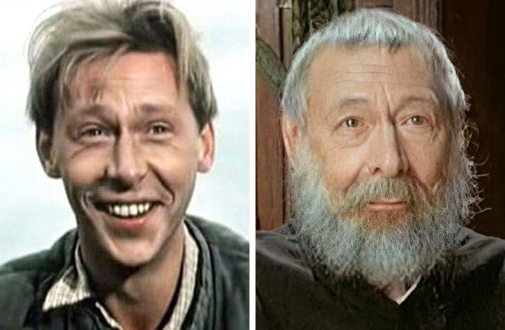 Любимые советские актеры в их первой и последней роли в кино