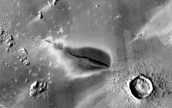 Могут ли вулканы на Марсе вновь проснуться?