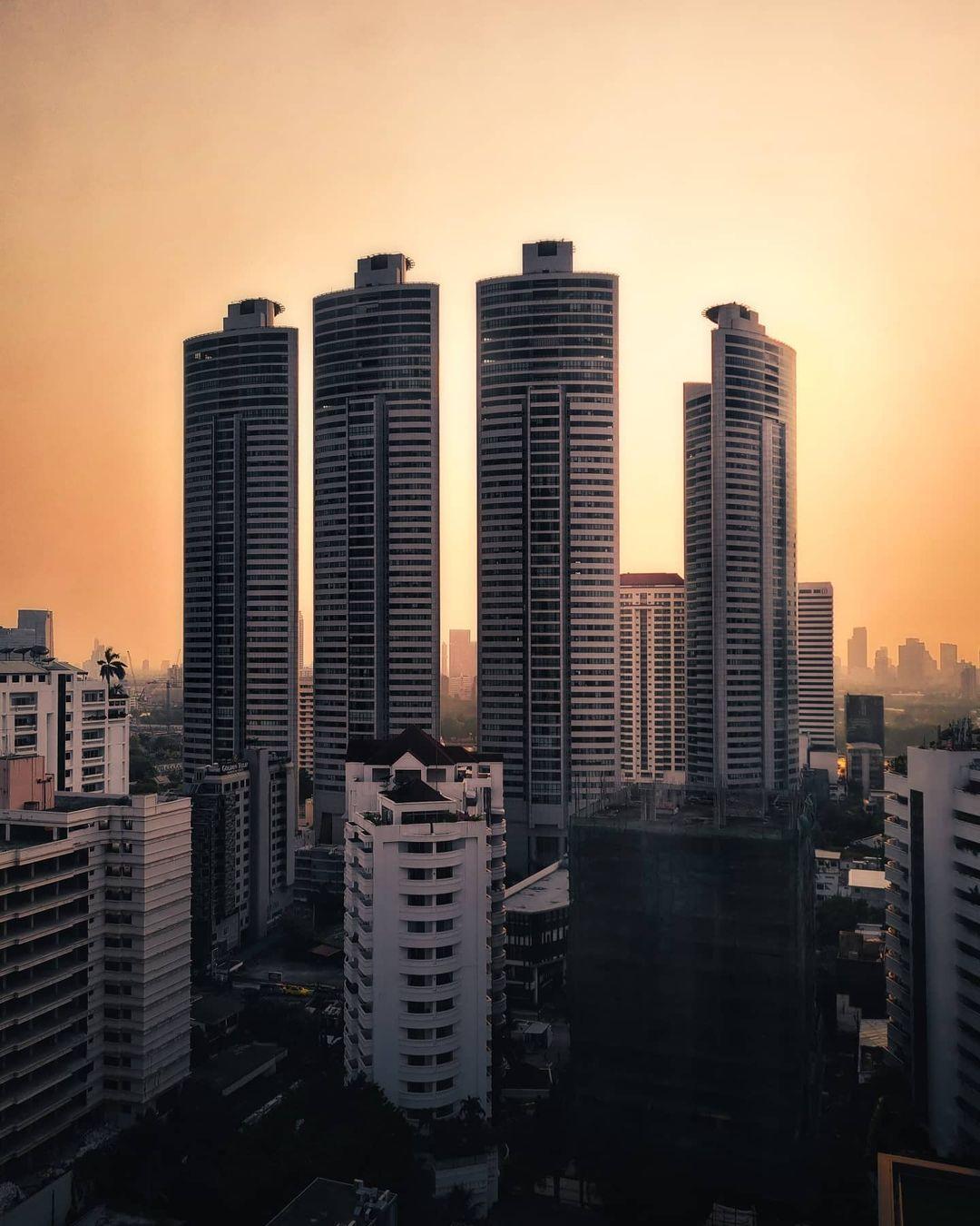 Городские и уличные снимки Бангкока от Наттачата Вахираваракарна