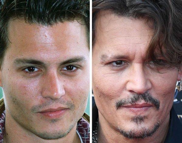 Как лица знаменитостей меняются с возрастом