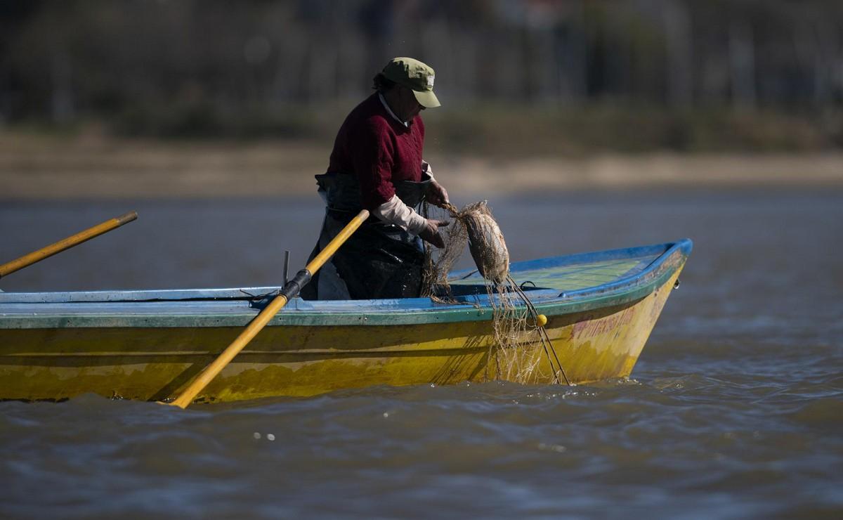 Река Парана страдает от засухи в Южной Америке