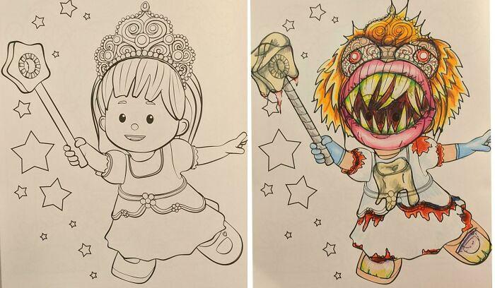 Вот почему детские раскраски нельзя давать раскрашивать взрослым