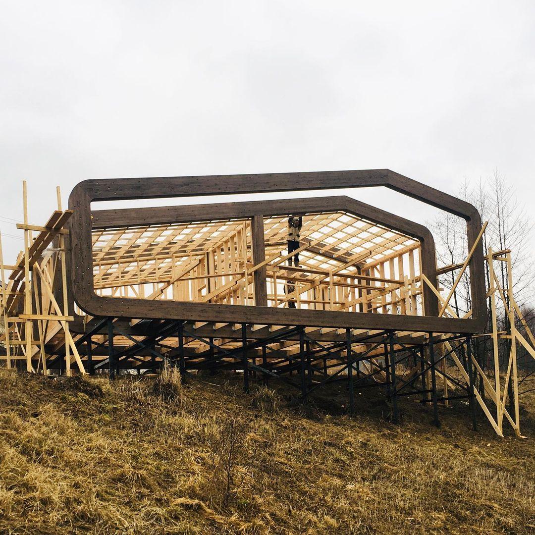 Модульный деревянный дом в Калужской области