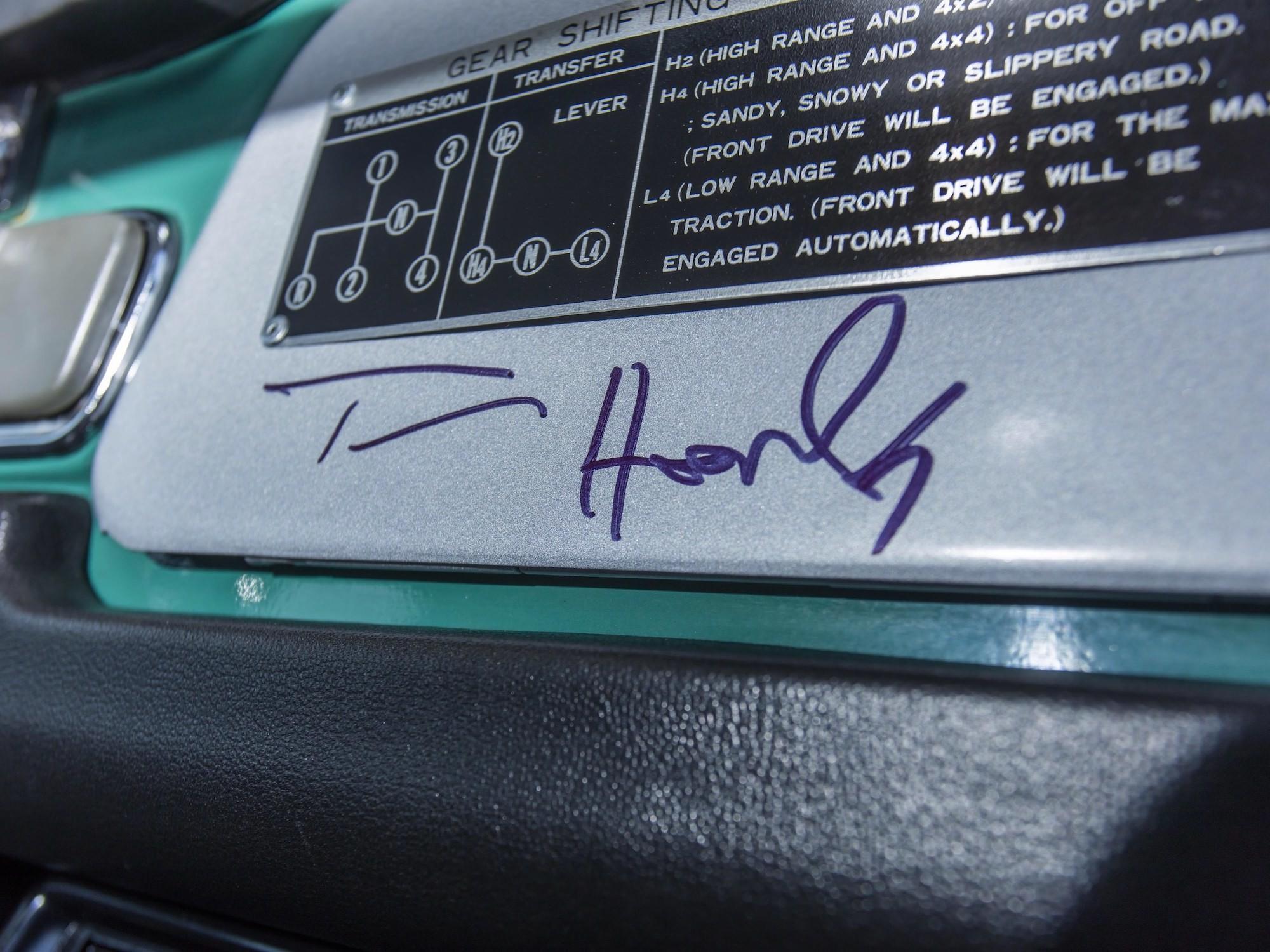 Доработанный Toyota Land Cruiser 1980 года Тома Хэнкса