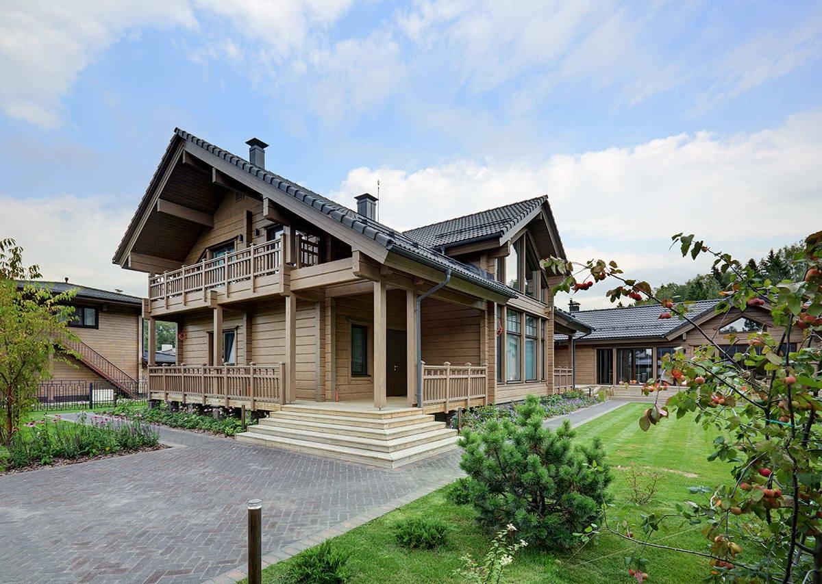 Деревянный дом в Подмосковье
