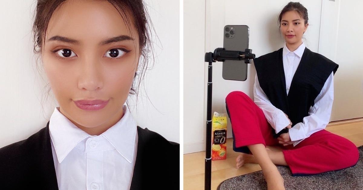 Модель из Таиланда высмеивает стереотипные фотографии девушек в Instagram
