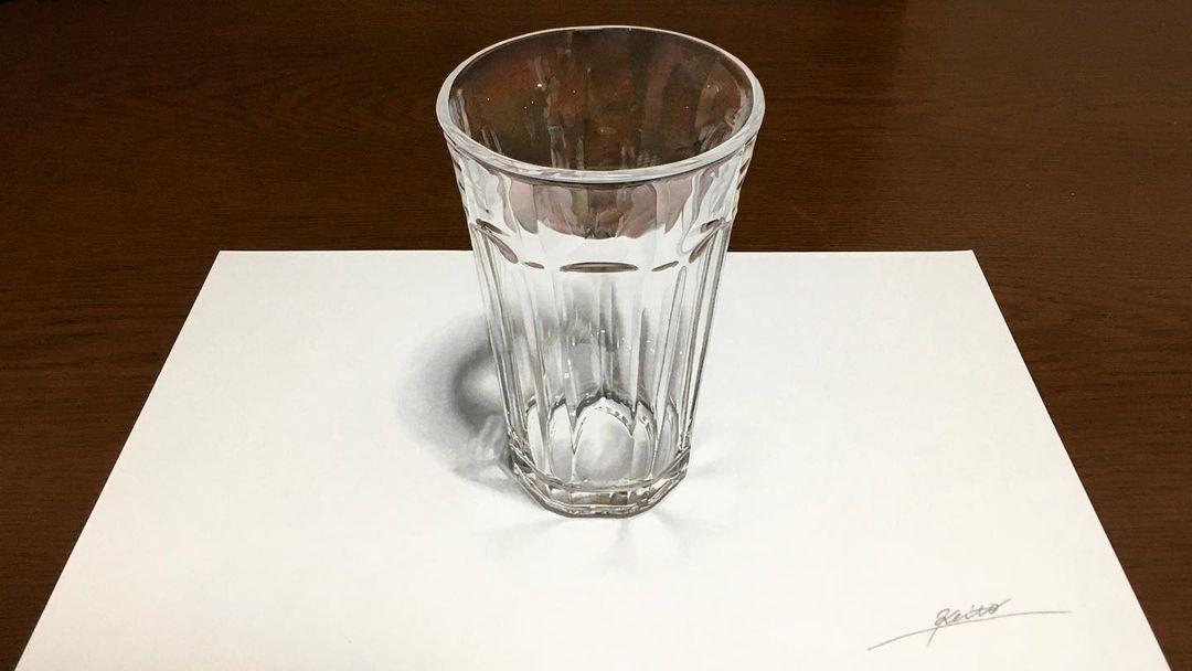 Удивительные гиперреалистичные рисунки от японского художника