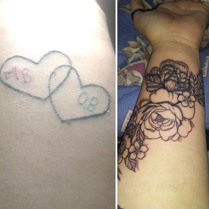 Креативные кавер-ап татуировки, которые избавили людей от старых или неудачных