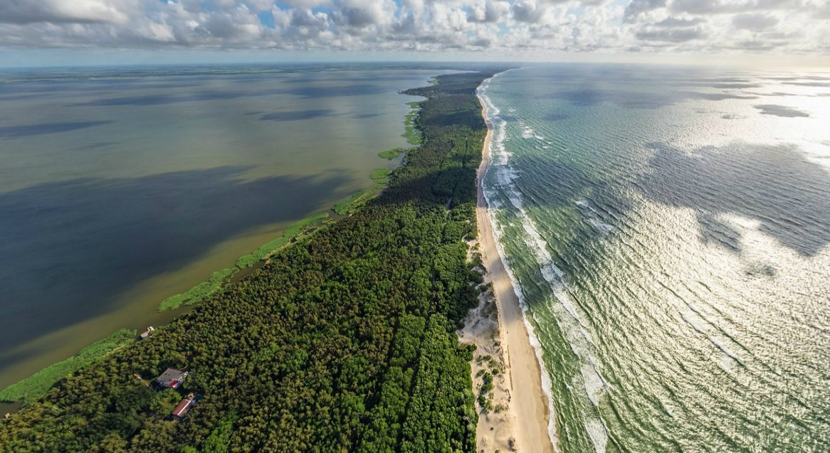 Куршская коса: таинственные леса и дикие пляжи
