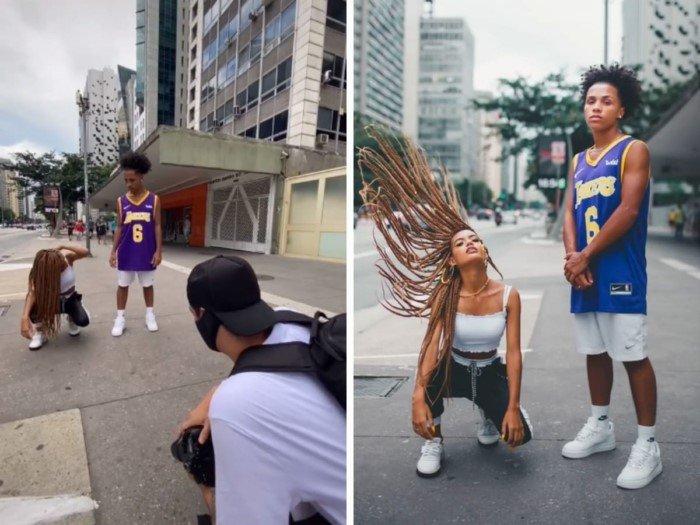 Снимки покажут, как происходит креативный процесс съёмок