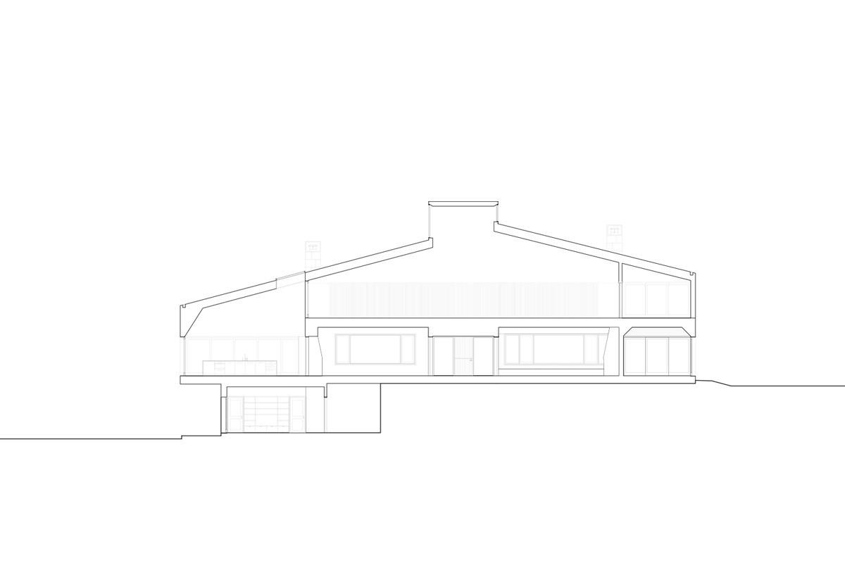Резиденция, эллинг и студия на острове в США