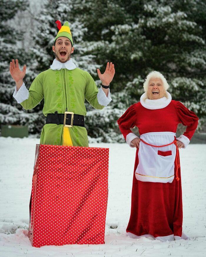 Бабушка и внук доказывают, что веселье не имеет ограничений по возрасту