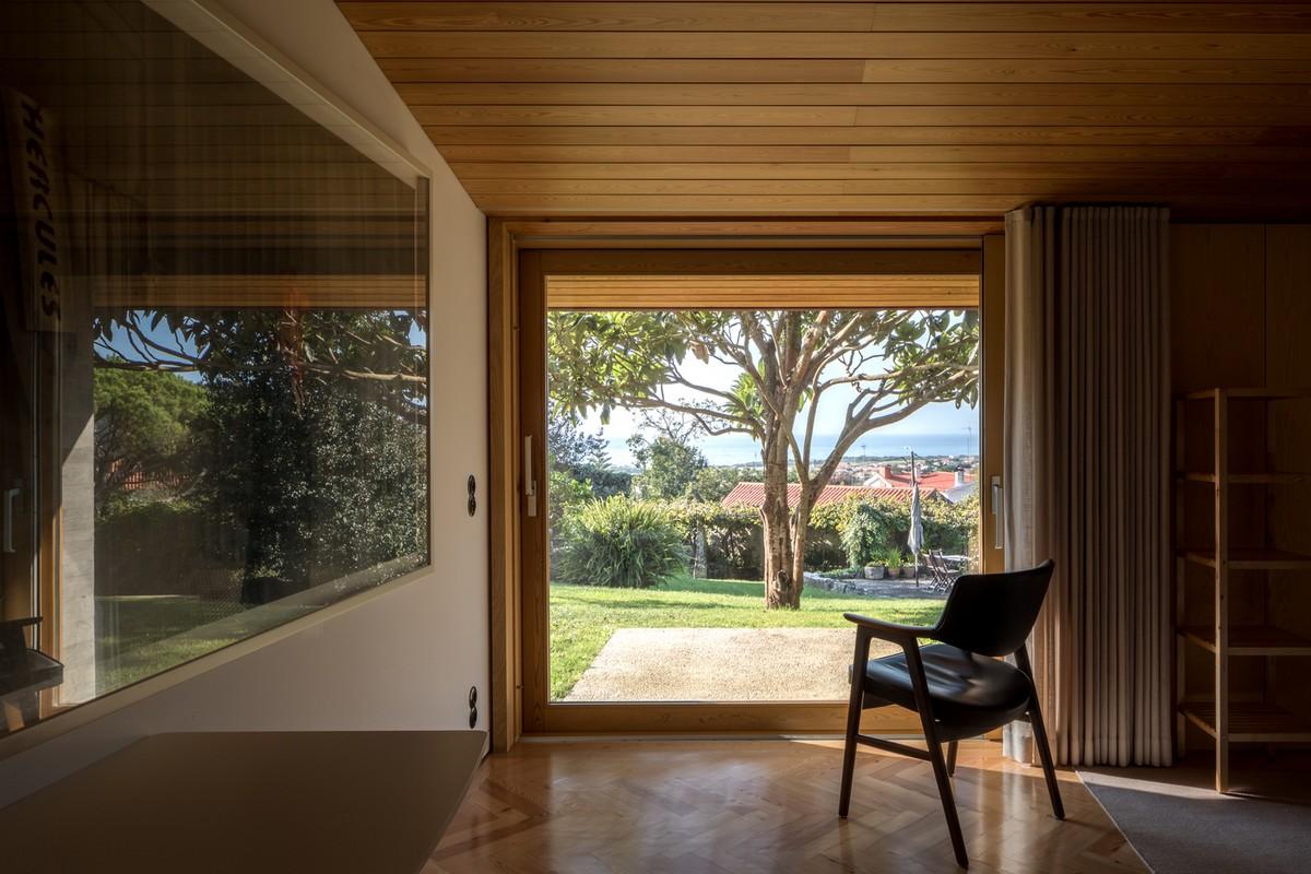Дом с видом на океан в Португалии Картинки и фото