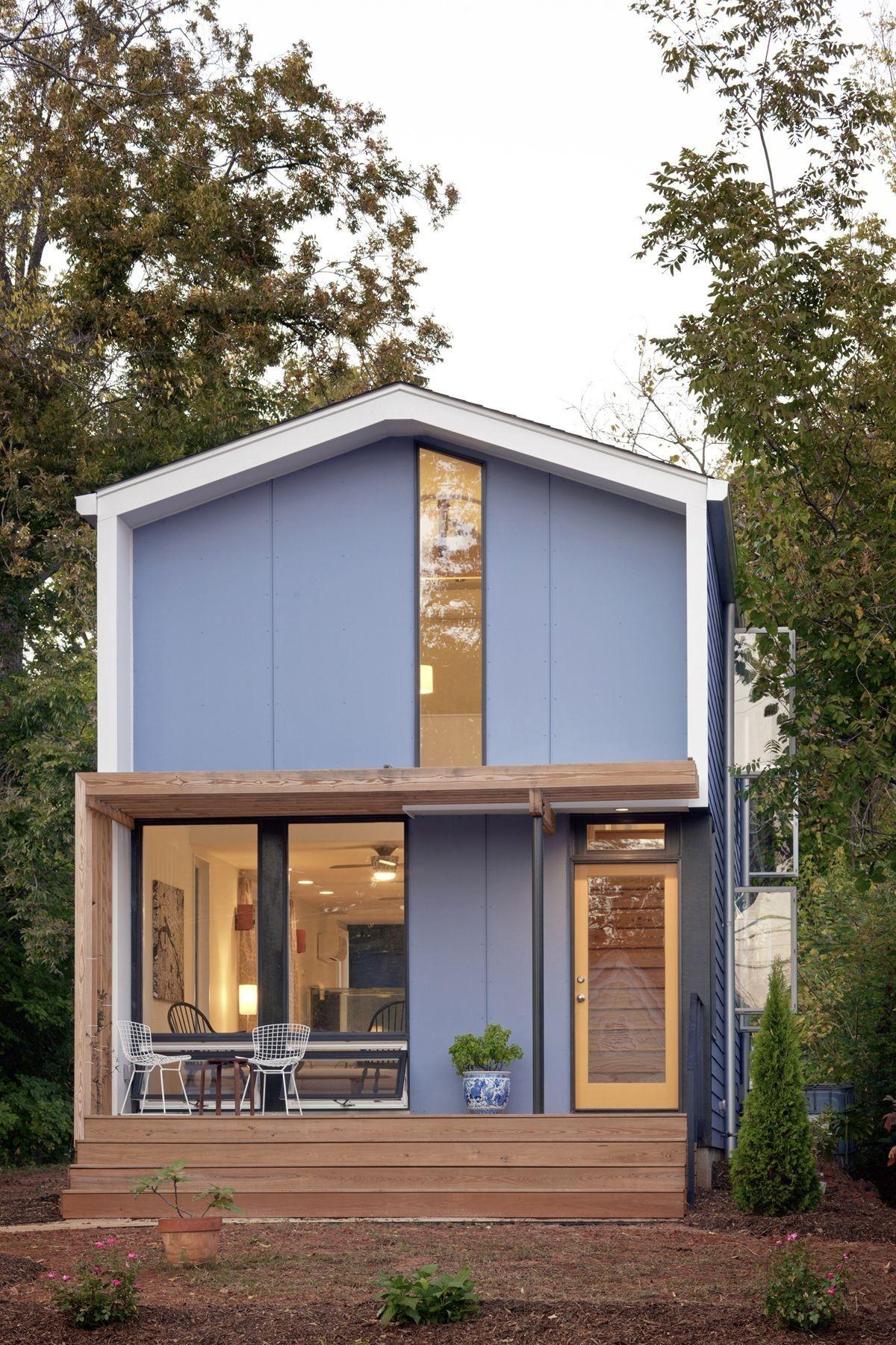 Современный городской домик в США