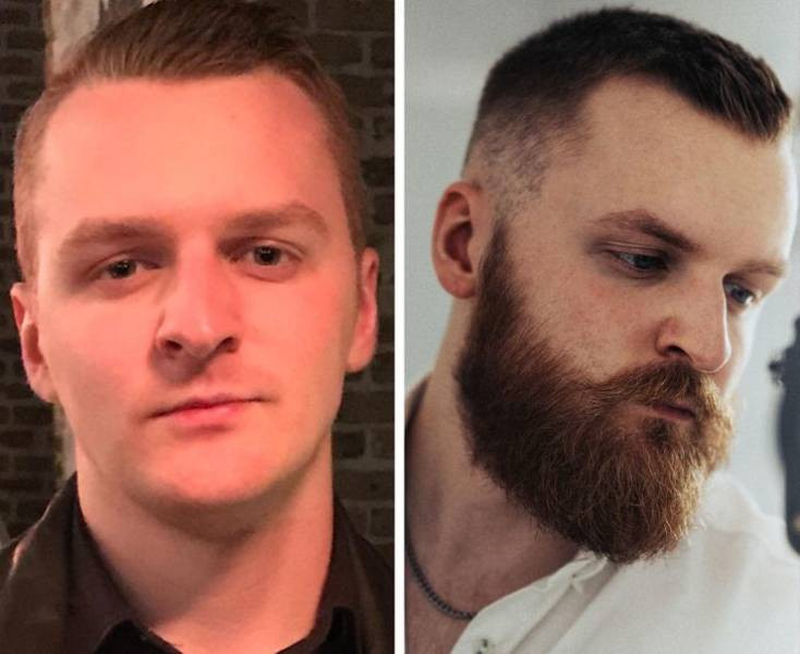 Борода может очень сильно изменить внешность