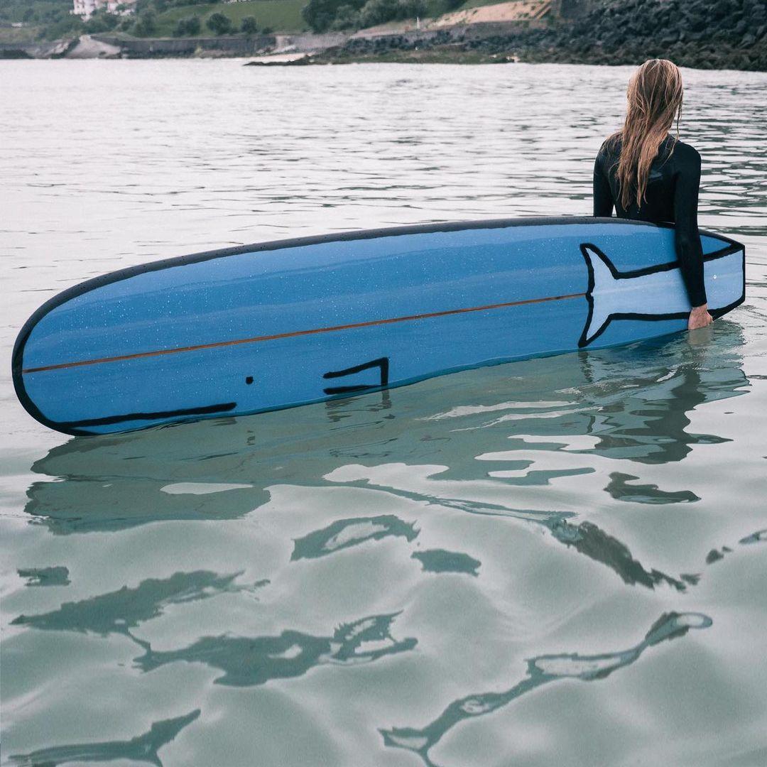 Мультяшные доски для сёрфинга от Жана Жульена