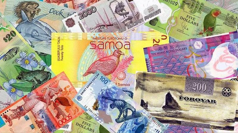 Красивые и привлекательные банкноты мира