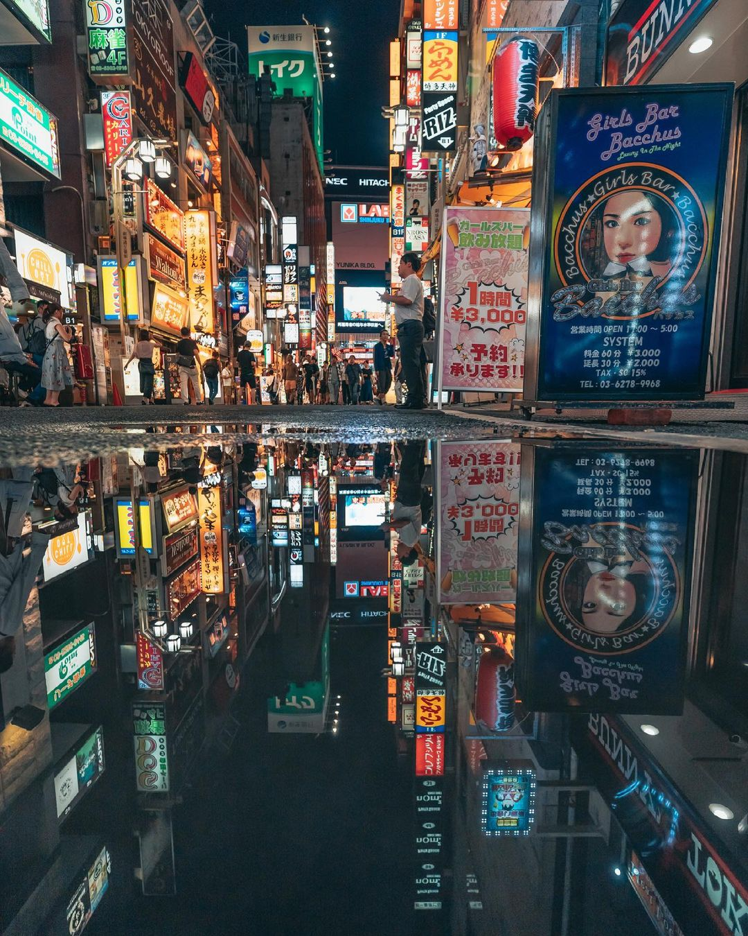 Японские улицы на снимках Юсуке Кубота